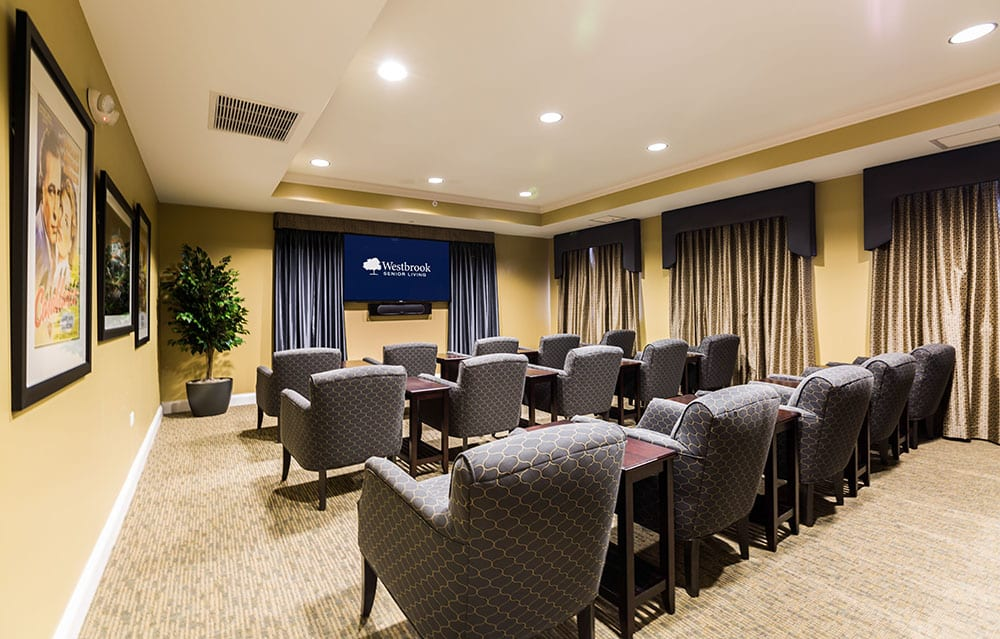 Theater at Westbrook Senior Living