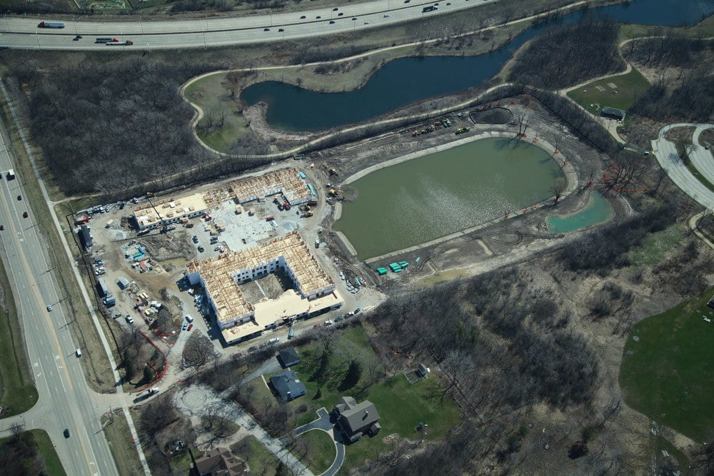 Construction Of Our Libertyville Senior Living Community