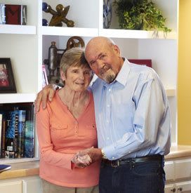 Happy Couple at Lake Travis Independent Living