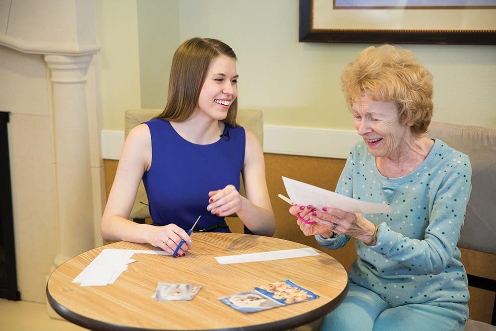 Bingo at Lone Mountain Memory Care