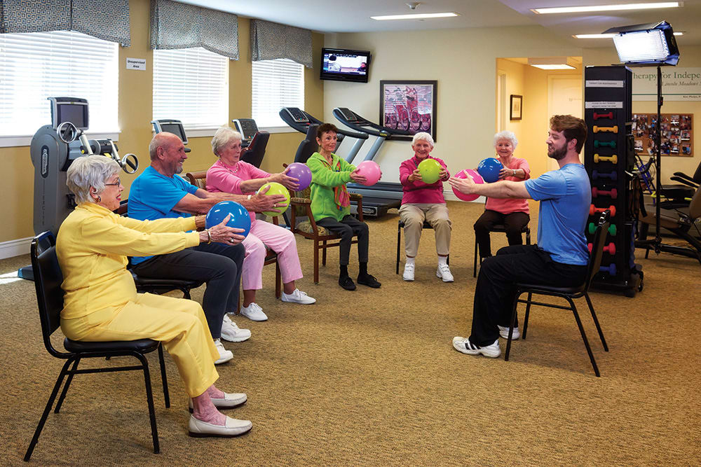 Wellness: Physical program at Lone Mountain Memory Care