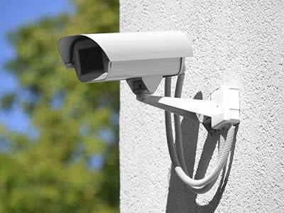 Security camera at A & A Self Storage Warner Robins