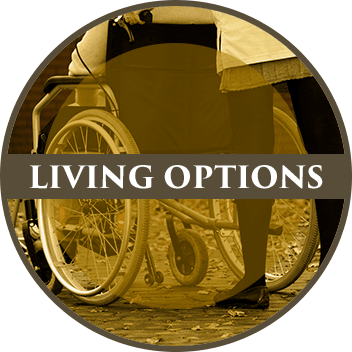 Various living options available at Parker Health & Rehabilitation Center