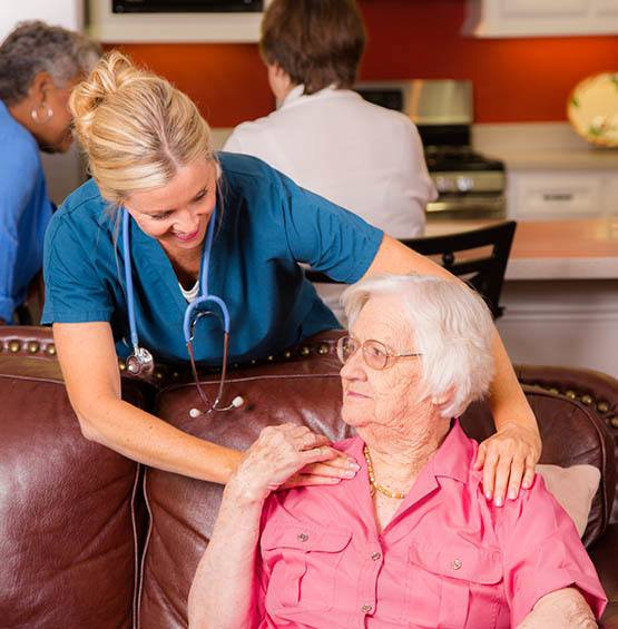 Memory care services at The Village at Hamilton Pointe