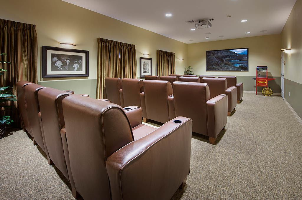 Entertainment room at The Village at Hamilton Pointe
