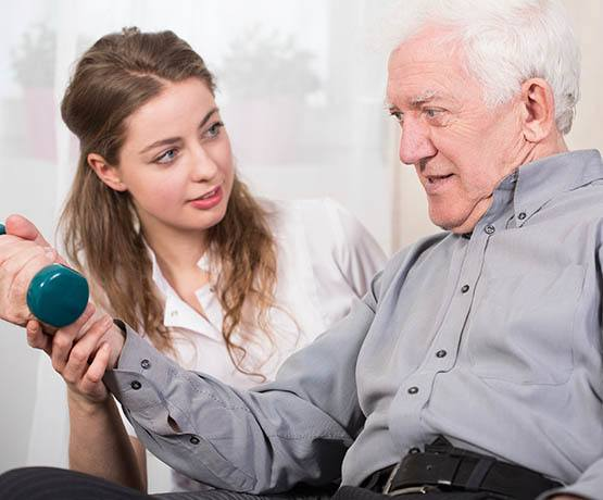 Rehabilitation services at Rolling Meadows Health & Rehabilitation Center