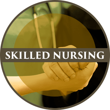 Skilled nursing services at Creekside Health and Rehabilitation Center