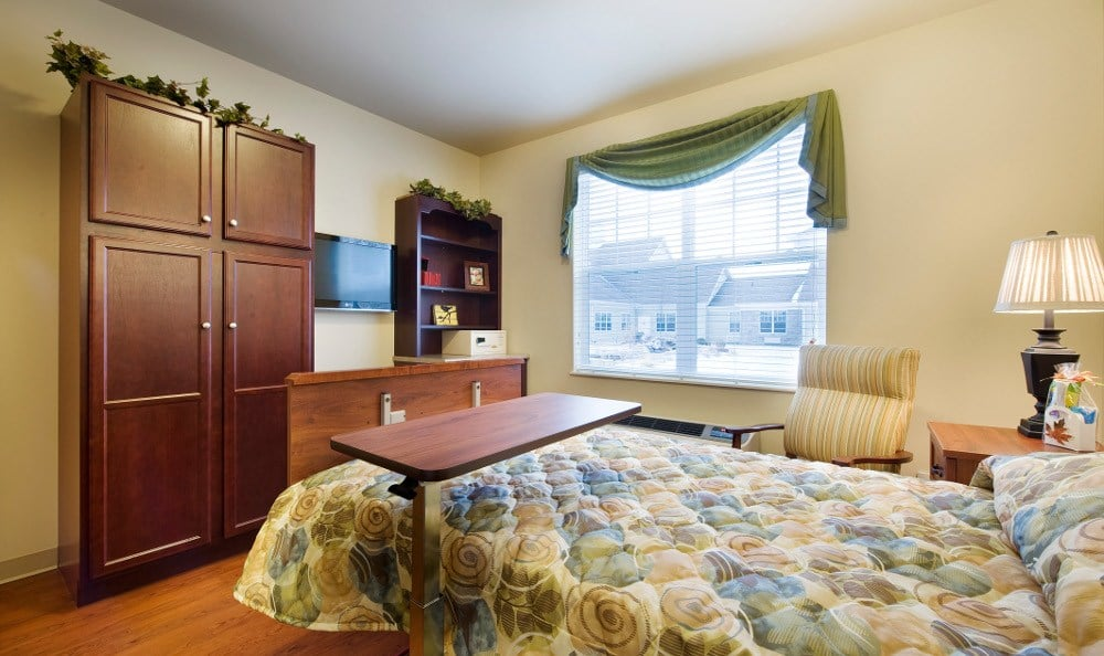 Our Chesterton, IN skilled nursing facilities have spacious bedrooms