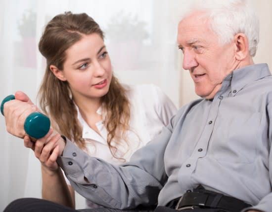 Occupational therapist at Albany Health & Rehabilitation Center