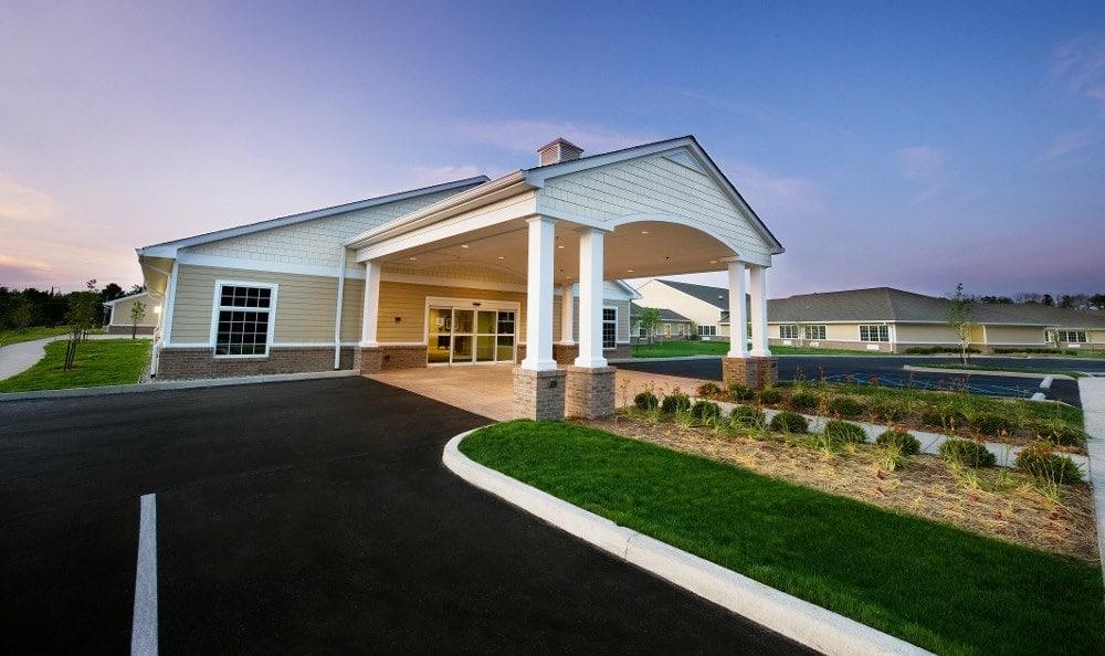 Entrance at Ashton Creek Health & Rehabilitation Center