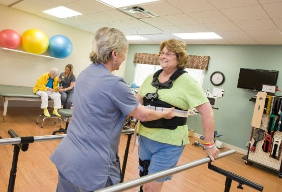 Physical therapy rehab services at The Village at Vienna Square