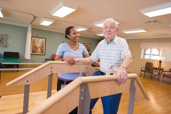 Physical therapy rehab services at Avon Health & Rehabilitation Center