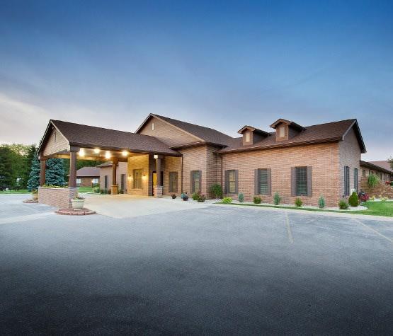 Rehabilitation services at Colonial Oaks Health & Rehabilitation Center