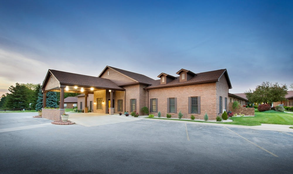 Entrance to our health care facility in Marion