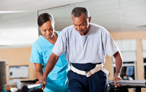 Physical therapy rehab services at Colonial Oaks Health & Rehabilitation Center