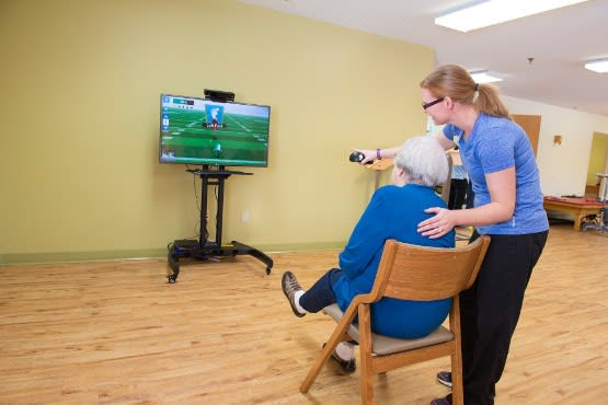 Physical therapy rehab services at Mason Health and Rehabilitation Center