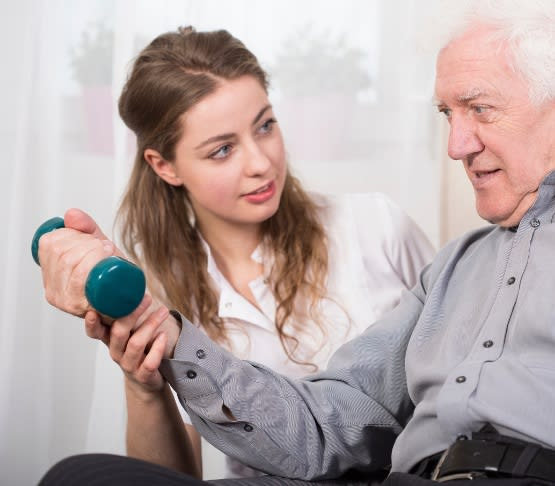 Occupational therapist at Parker Health & Rehabilitation Center