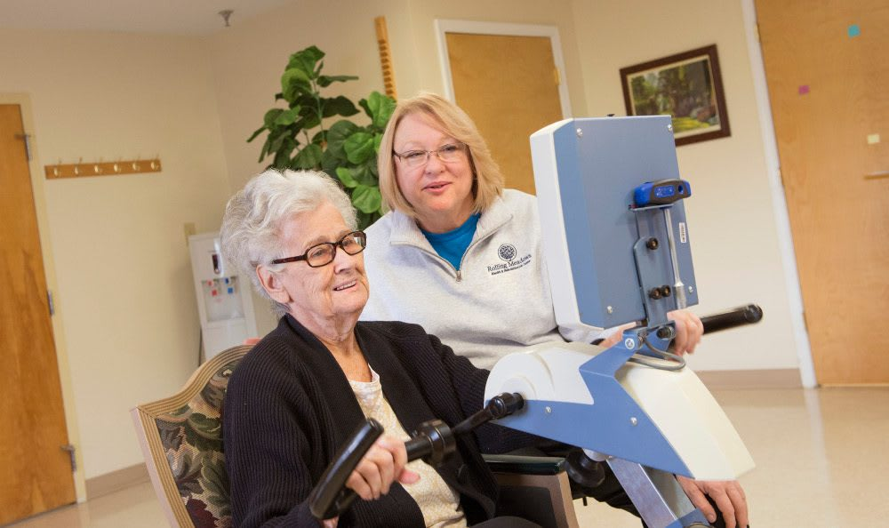 Our La Fontaine, IN skilled nursing facility has the best rehabilitation technology