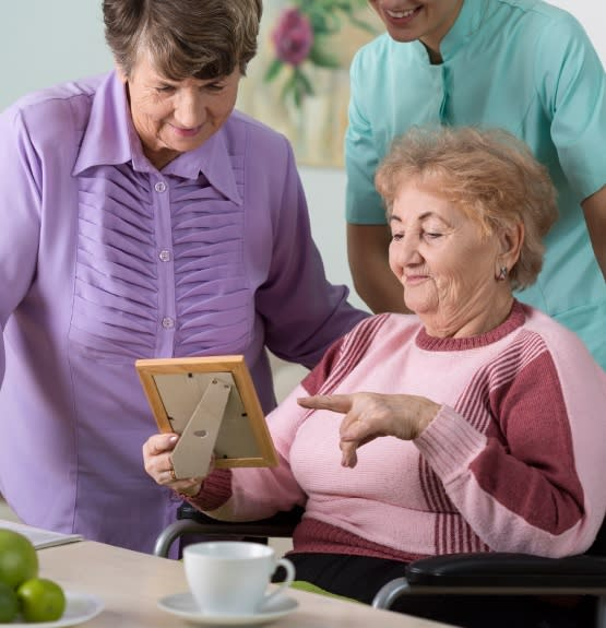 Memory care services at Rolling Meadows Health & Rehabilitation Center