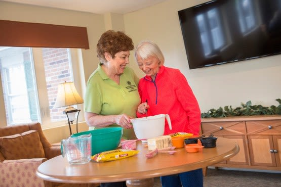 Find out about memory care options at Rolling Meadows Health & Rehabilitation Center