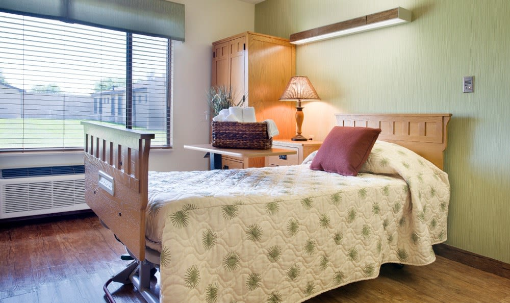 Our Marion, IN retirement community has spacious bedrooms