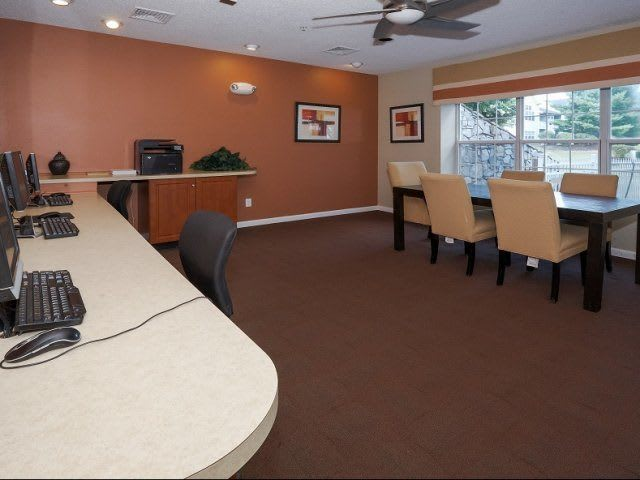Business Center At Apartments In Wappingers Falls New York