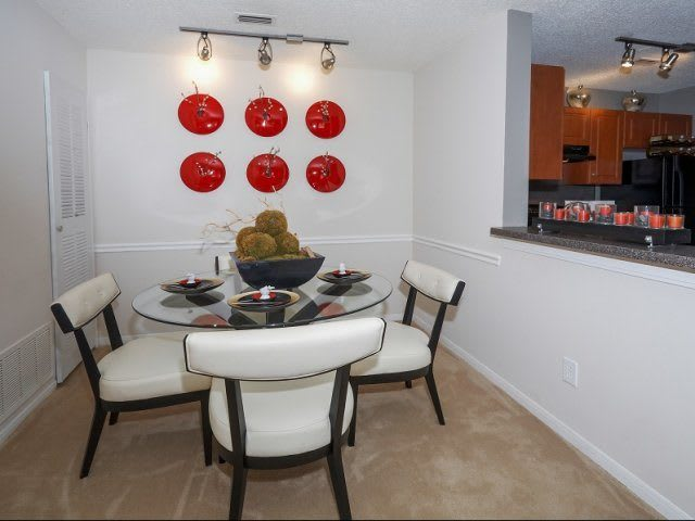 Dining Room At Apartments In Wappingers Falls New York