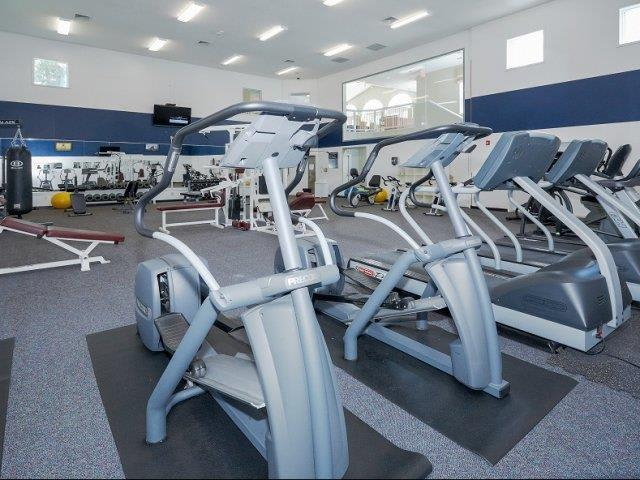 Fitness Center At Apartments In Wappingers Falls New York