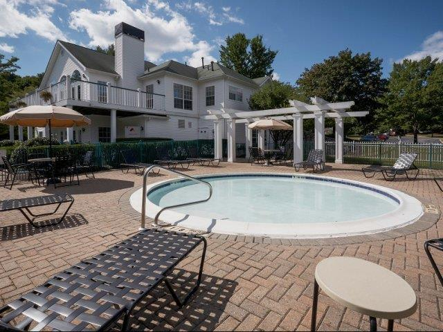 Hot Tub At Apartments In Wappingers Falls New York