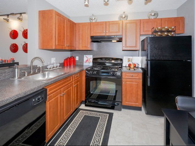 Kitchen At Apartments In Wappingers Falls New York