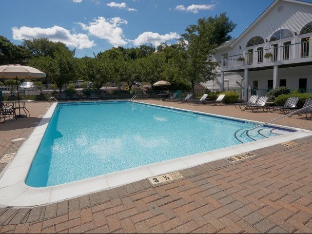 Swimming Pool At Apartments In Wappingers Falls New York