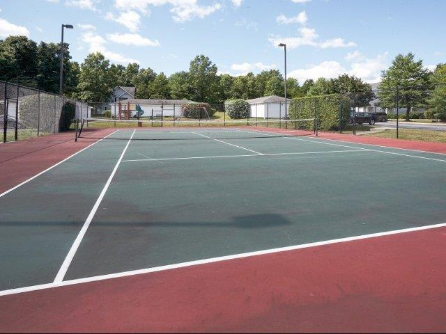 Tennis Courts At Apartments In Wappingers Falls New York