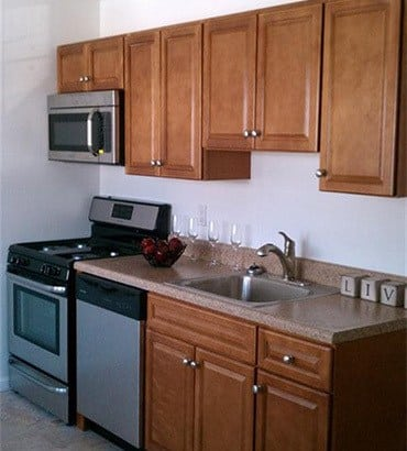 New appliance at Eagle Rock Apartments at Woodbury