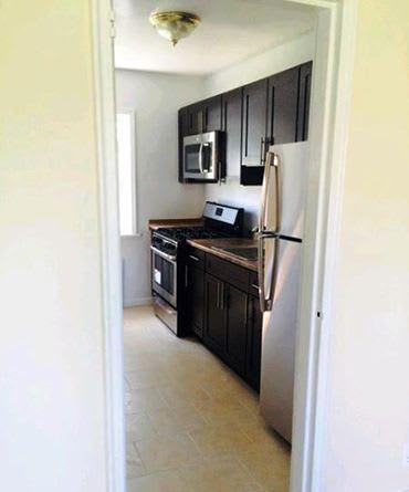 New appliance at Eagle Rock Apartments at Huntington Station