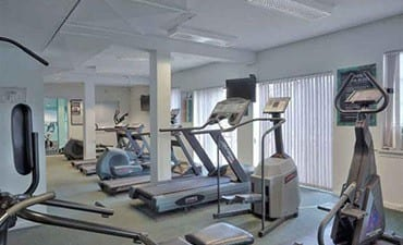 Gym at Clemens Place Apartments
