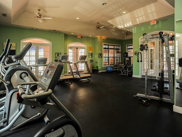 Exercise facility at Westville Village Apartments in New HavenCT