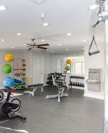 Fitness Center at Brookview Apartments