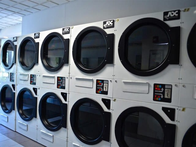 Laundry facility at Bunt Commons.