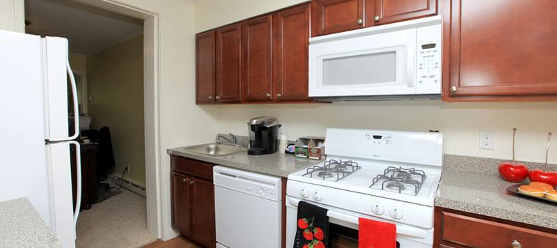 Kitchen At Apartments In Ossining New York