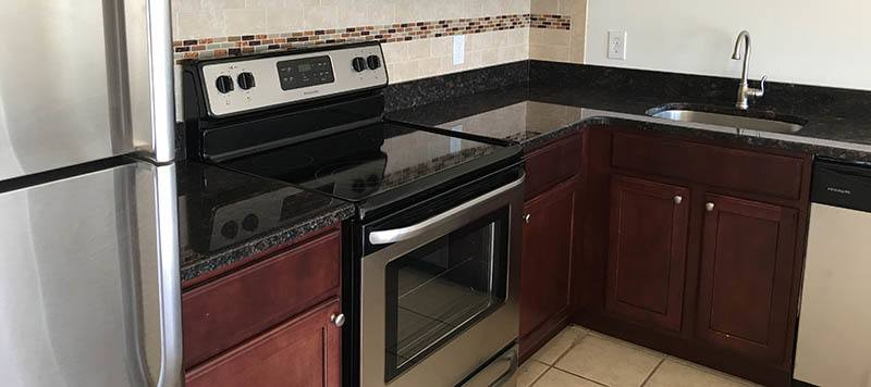 New upgraded kitchens at our Coram apartments