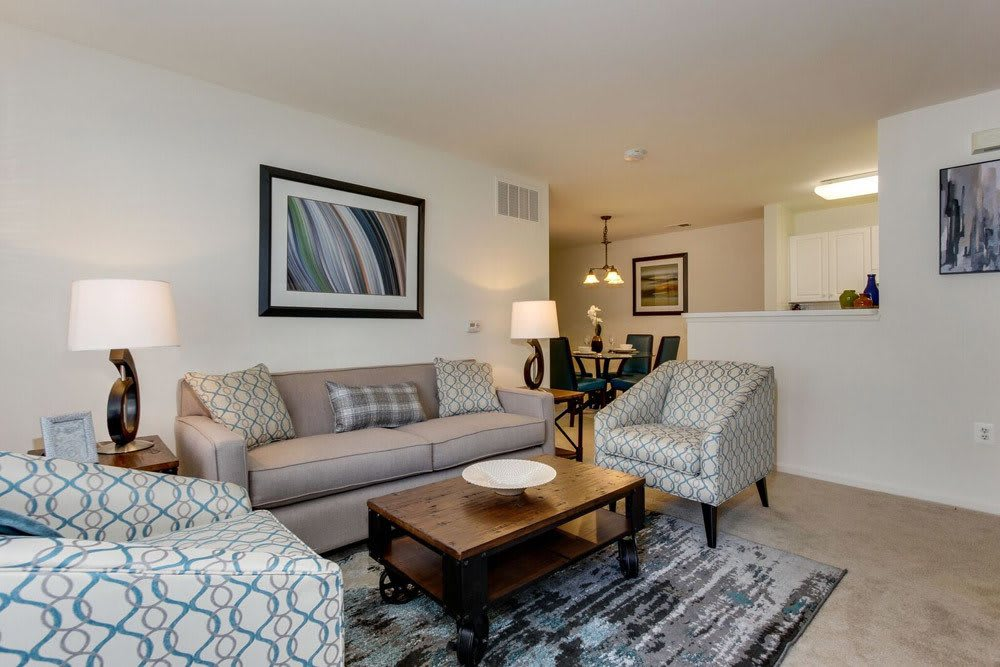 Eagle Rock Apartments at Freehold feels like home with gas fireplaces and fabulous amenities.