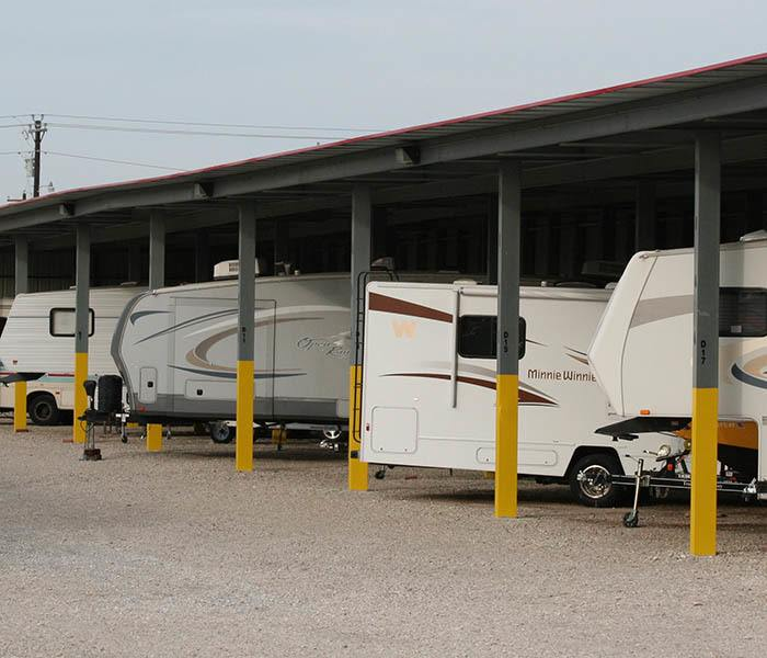 Park your RV or trailer at AStorage