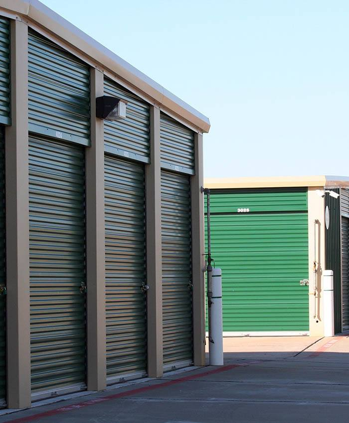Clean storage units available at AStorage