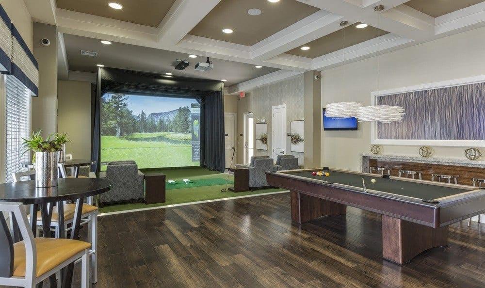 Winter Springs Apartments has designer bedrooms