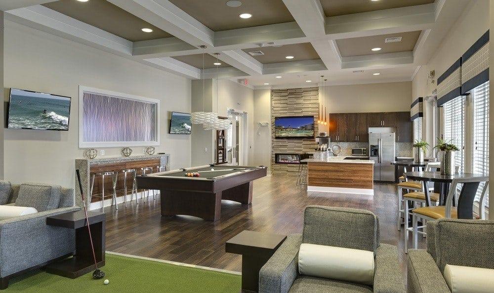 Luxurious apartment amenities here at Integra 360