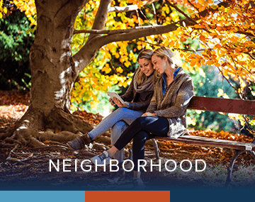 Check out the local Atlanta neighborhood!