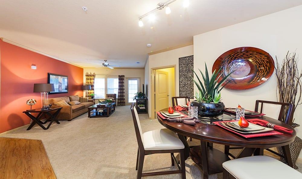 Ooltewah apartments living room
