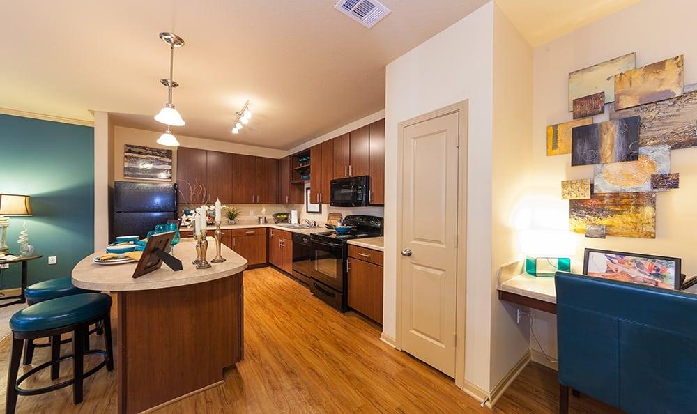 Ooltewah apartments kitchen