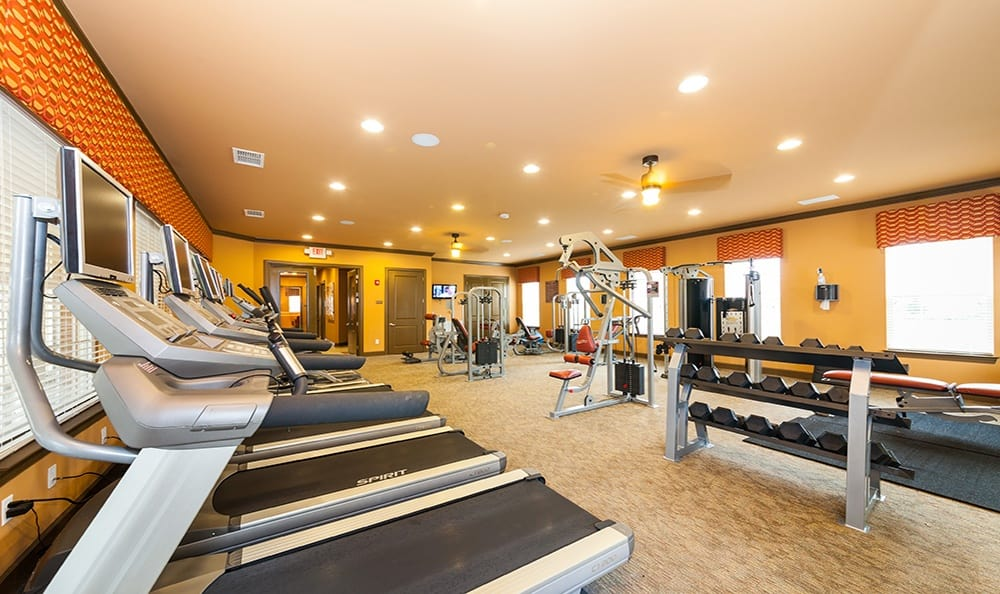 Ooltewah apartments fitness center
