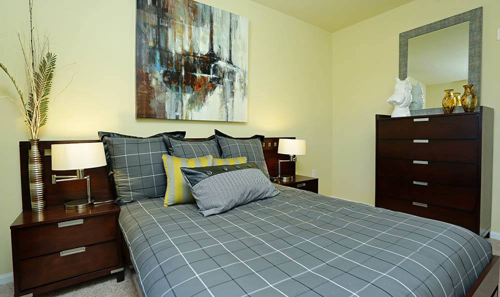 Apartments in Huntsville offer modern bedrooms